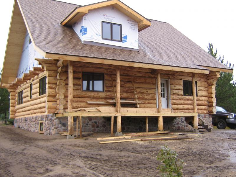 red pine log works inc home